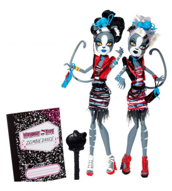 Мяулодия и Пурсефона Куклы Monster High (Mattel)