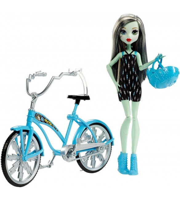 Фрэнки Штейн на велосипеде Кукла Monster High (Mattel)
