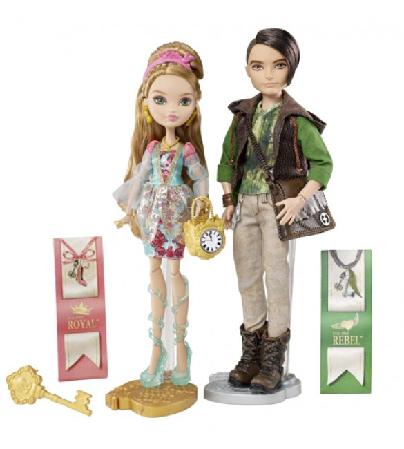 Эшлин Элла и Хантер Хантсмэн куклы Ever After High (Mattel)